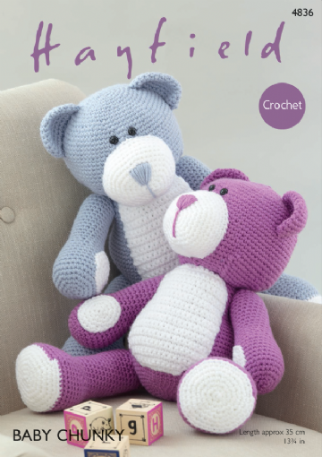 Hayfield Bear in Baby Chunky 4836